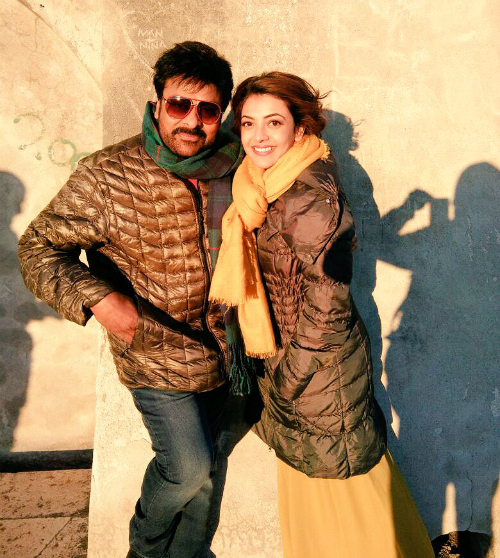 chiranjeevi-kajal-agarwal-khaidi-no-150-first-look
