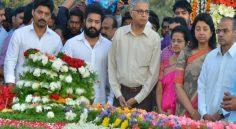 Jr.NTR, Kalyan Ram Visits NTR GHAT