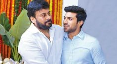 Ram charan once again with Mega star…