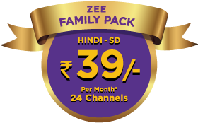 Zee Family Pack | Zee Channel Packages for Entertainment, Movies